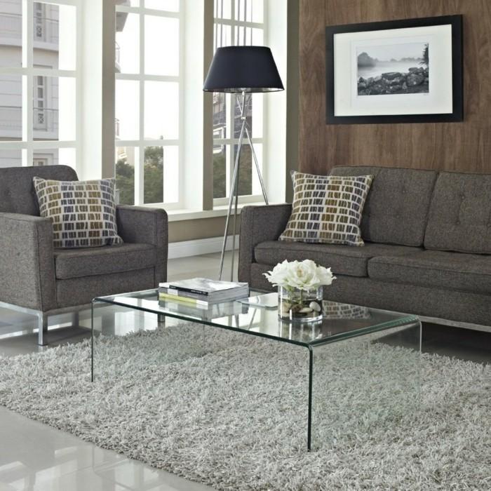 wei hochglanz glastisch wohnzimmertisch wohnzimmer tisch modern