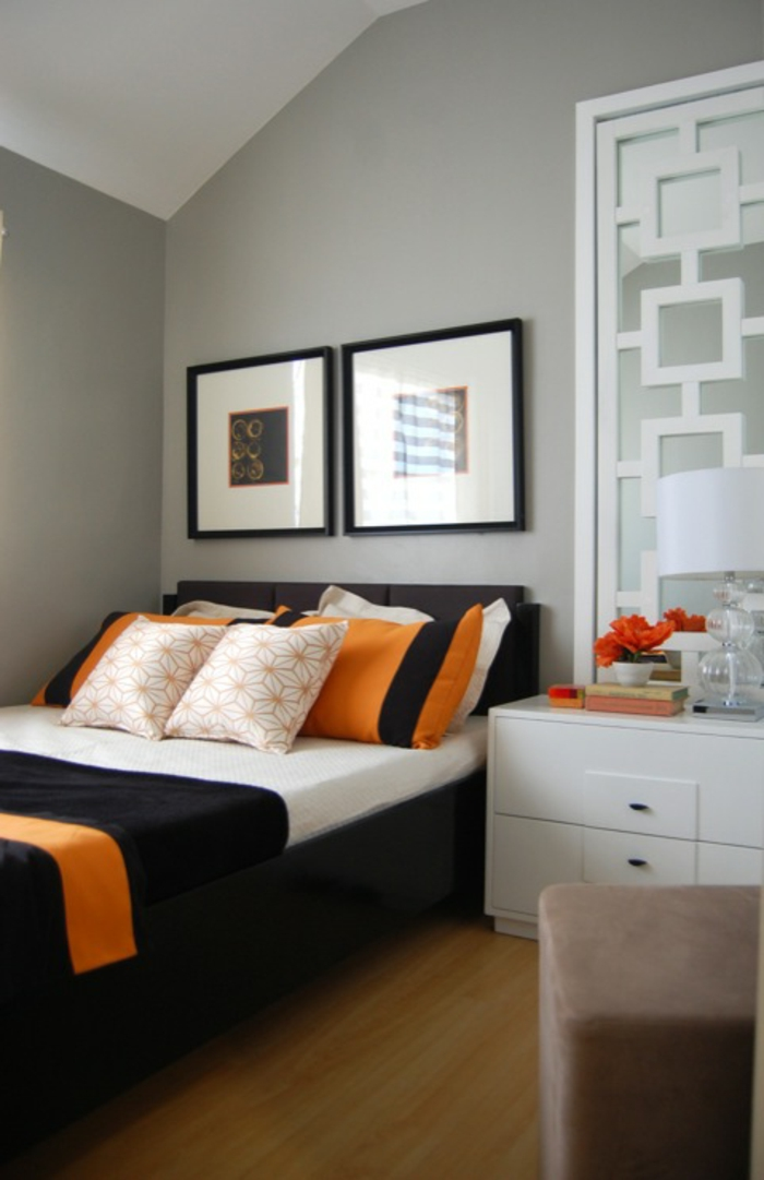 Schlafzimmer Grau  88 Schlafzimmer mit deutlicher Prsenz von Grau