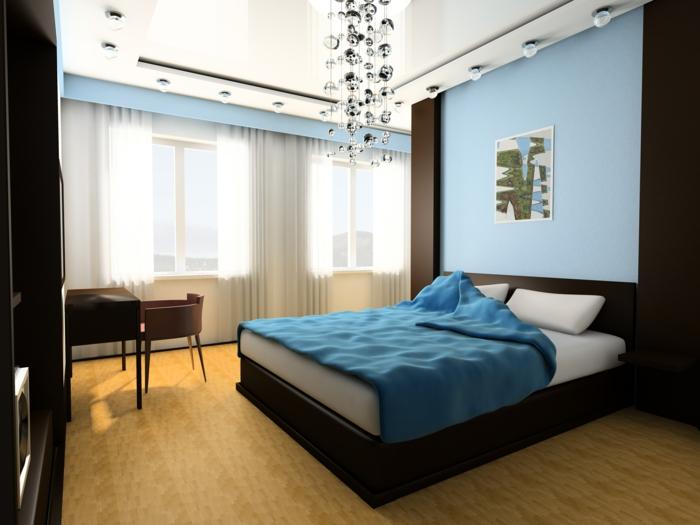 50 Blaue Schlafbereiche Die Schlaf: Farben Schlafzimmer Nach Feng Shui