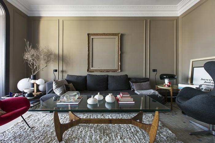 glastische für wohnzimmer | haus design ideen, Wohnzimmer