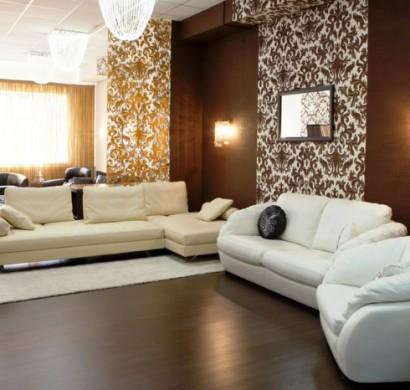 Wohnzimmer Braun  60 Mglichkeiten wie Sie ein braunes