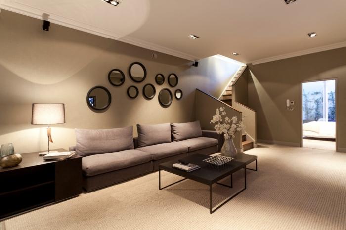Wohnzimmer Braun  60 Mglichkeiten wie Sie ein braunes Wohnzimmer gestalten