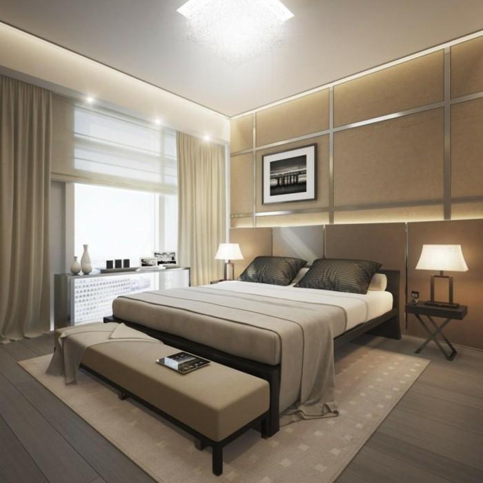 Schlafzimmer Ideen Weiß Beige | Wandfarben Kombinationen ...
