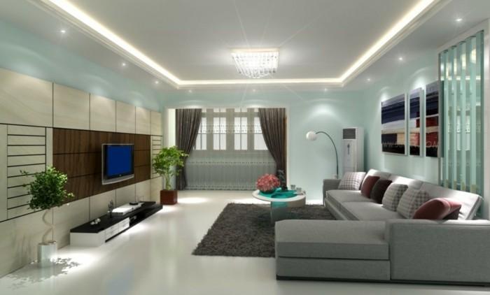 Wohnzimmer Lampen  66 Ausgefallene Ideen fr die Beleuchtung des Wohnbereiches
