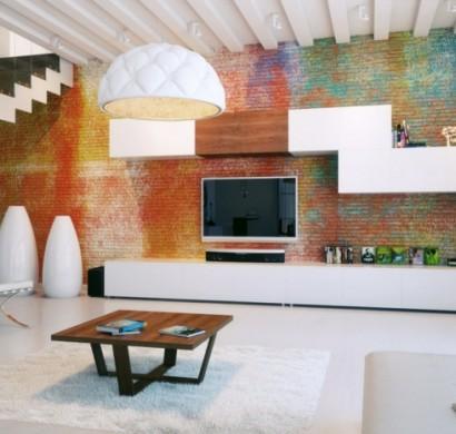 70 Ideen fr Wandgestaltung  Beispiele wie Sie den Raum aufwerten