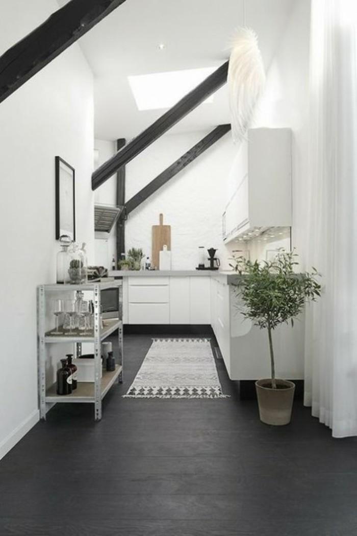 Die problematische Dachgeschosswohnung und die perfekte Kcheneinrichtung dafr 49 Ideen