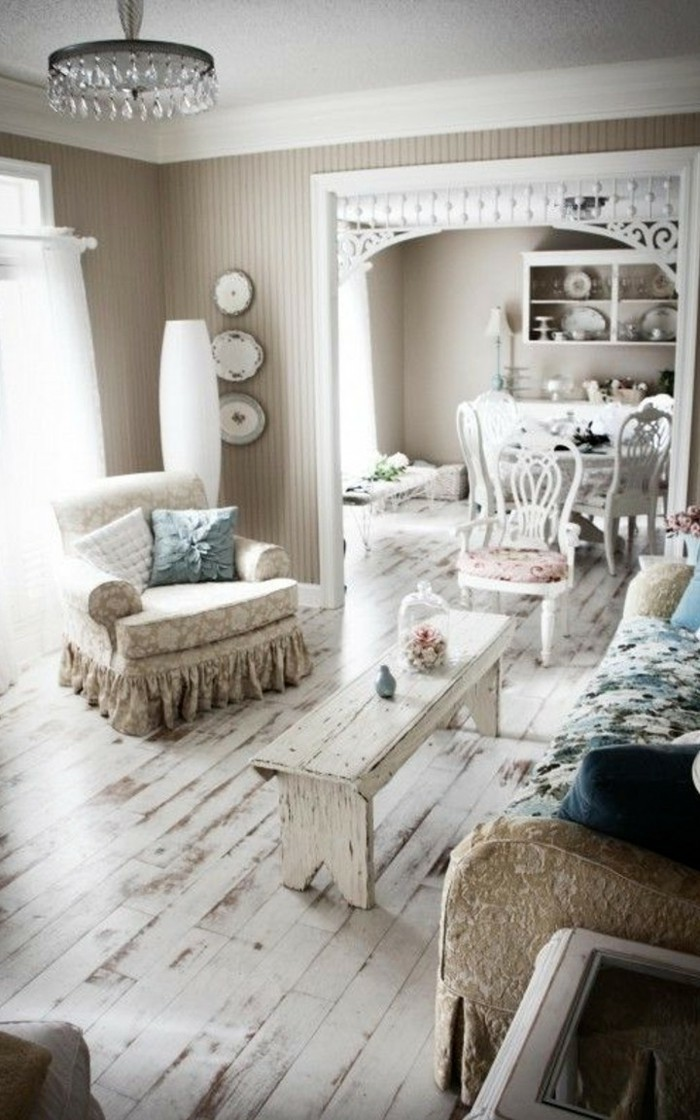 Shabby Chic Wohnzimmer Ideen – Home Sweet Home