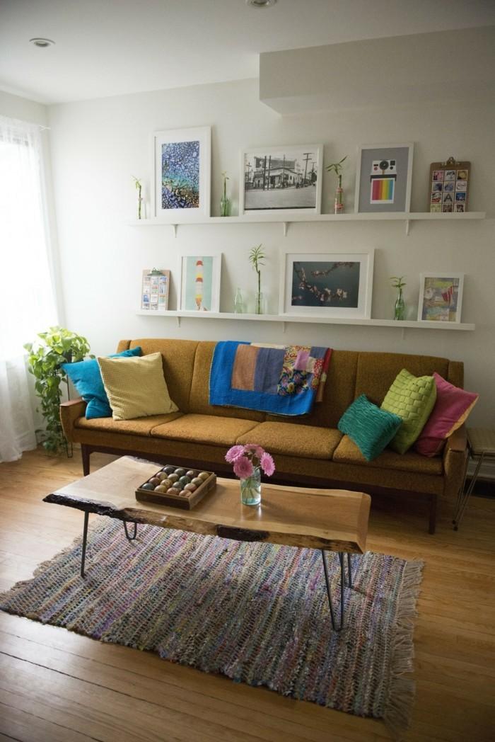 Bilderleisten sind eine groe Hilfe bei der Wohnungsdekoration  30 Dekoideen fr Ihre Wohnung