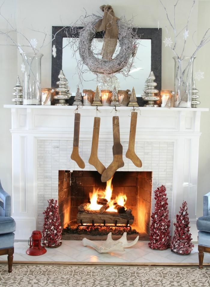 Wohnzimmer Gestaltung und Dekoideen zu Weihnachten wie Sie weihnachtliche Stimmung verbreiten