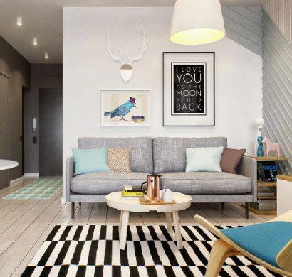 Kleine Wohnung einrichten  Tipps Tricks und Mythen