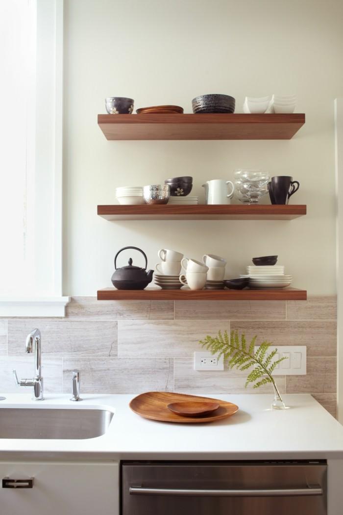 Farbe Küchenwand | Wandfarbe Schwarz: 59 Beispiele Für ...