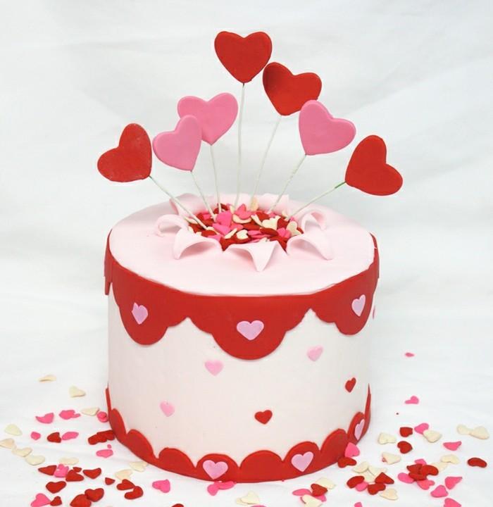 42 Valentinstag Kuchen Muffins und Kekse die dem Fest
