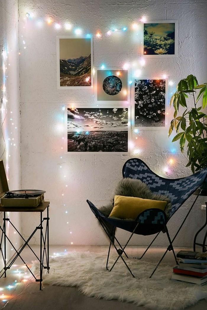 LED Lichterkette sorgt fr eine verlockende Atmosphre  25 Dekoideen fr innen und auen