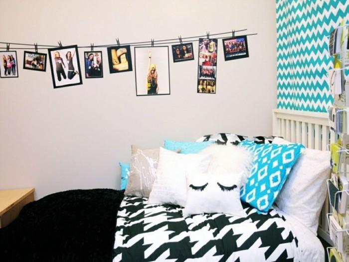 DIY Deko Jugendzimmer sorgt fr mehr Individualitt und