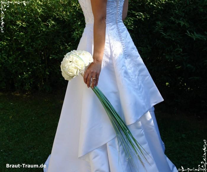 Brautstrau Wasserfall Rosen
