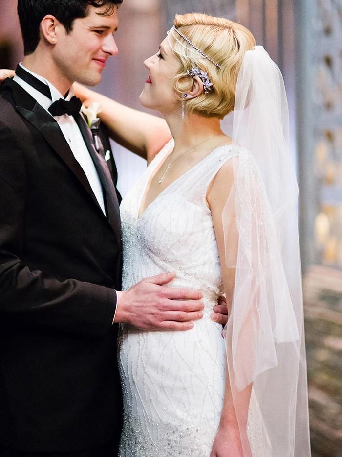 101 Hochzeitsideen fr Brautfrisuren mit Schleier weil das Klassische immer aktuell ist