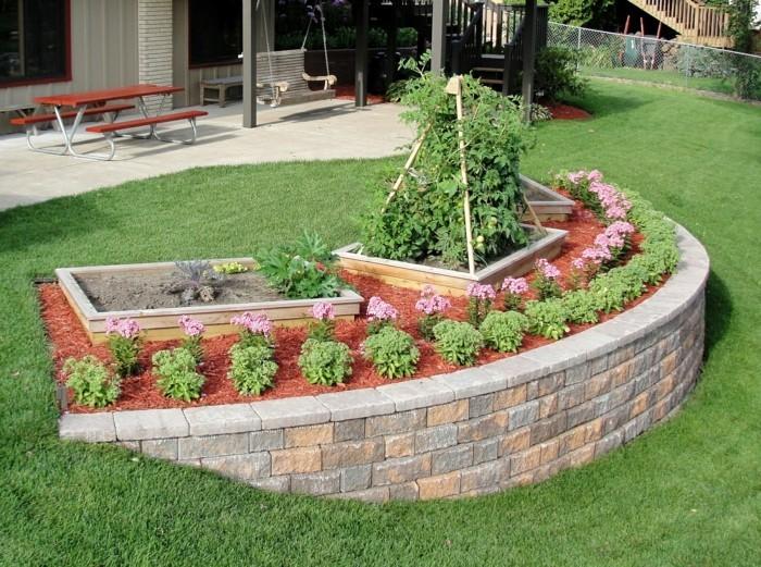 Gunstige Garten Ideen Mit Steinen