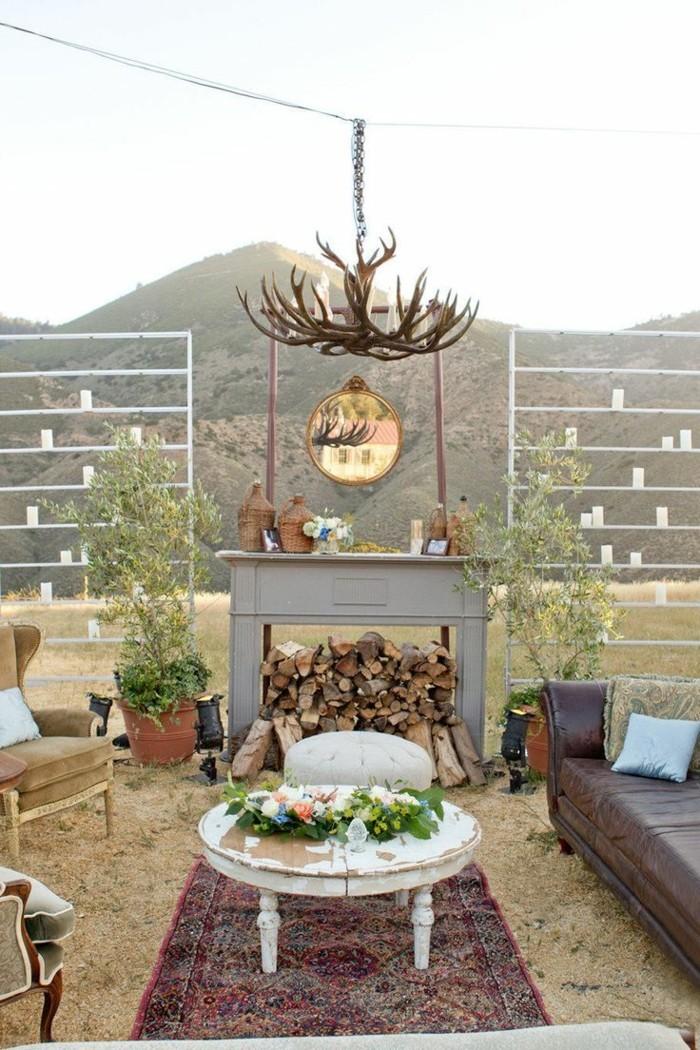 Garten Sitzecke  99 Ideen wie Sie ein Outdoor Wohnzimmer gestalten