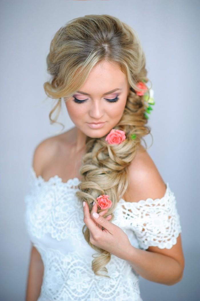 80 schne Frisuren fr die Hochzeit  die perfekte