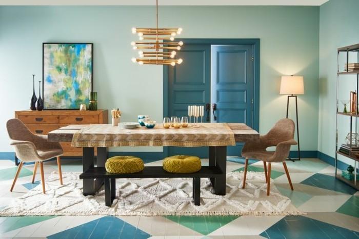 Trendige Farben 2017  welche Farbtne bleiben weiterhin topaktuell in der Raumgestaltung
