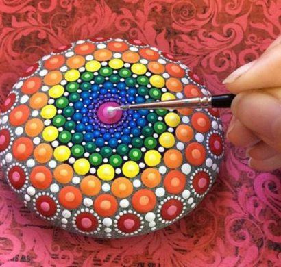 Steine bemalen 101 Ideen fr eine wunderschne DIY Dekoration