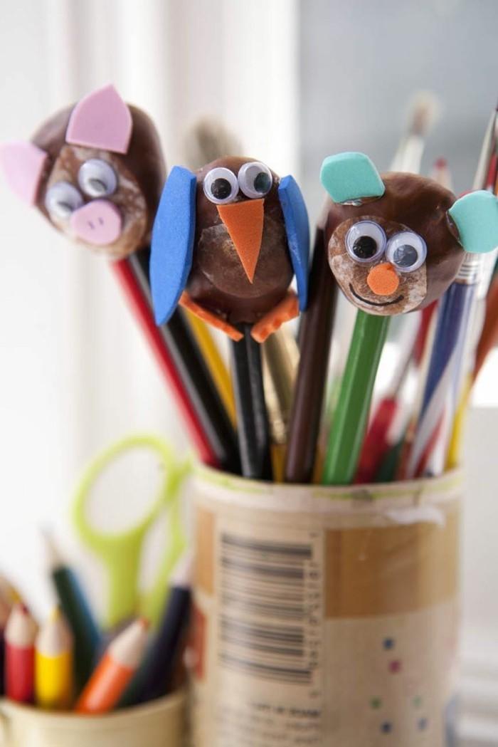 Basteln mit Kastanien  Inspirierende DIY Ideen mit