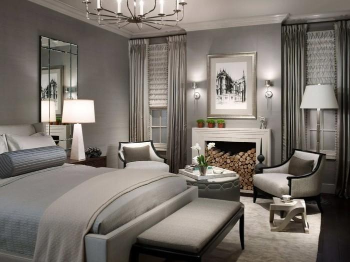 Gardinen Schlafzimmer  75 Bilder beweisen dass Gardinen ein Muss im Schlafbereich sind