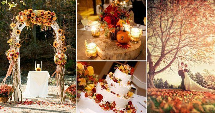Die schnsten Hochzeitsdeko Ideen im Sptsommer und Herbst