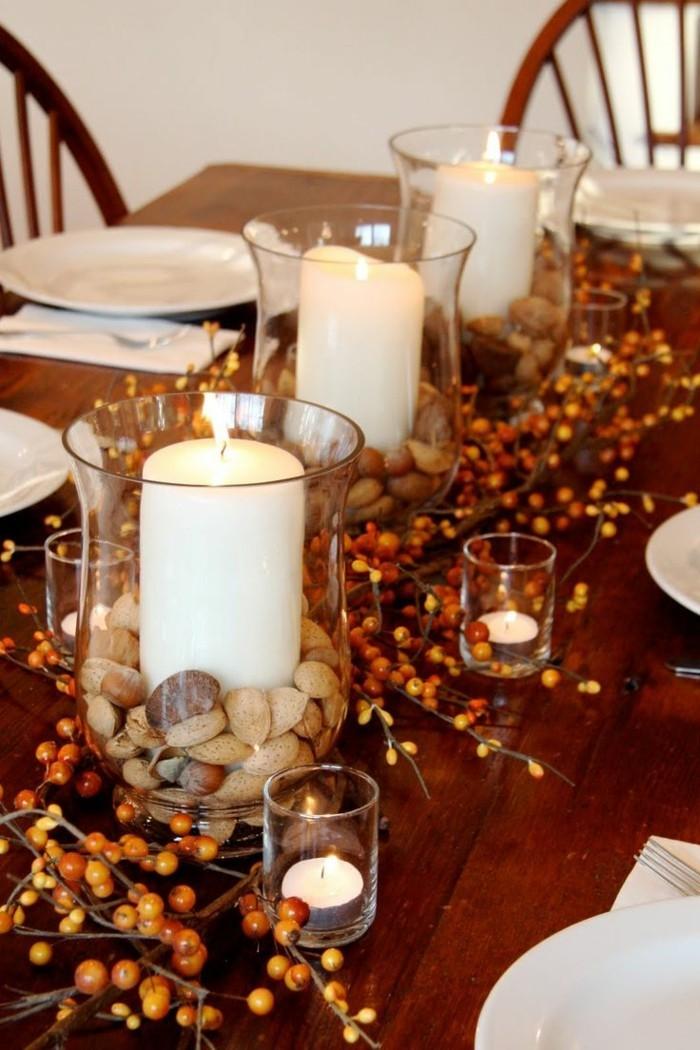 Tischdeko Herbst  51 Vorschlge fr eine herbstliche Tafel