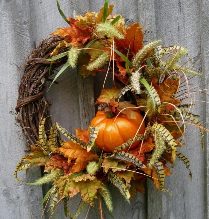 Basteln mit Naturmaterialien im Herbst  33 Dekoideen zum Selbermachen