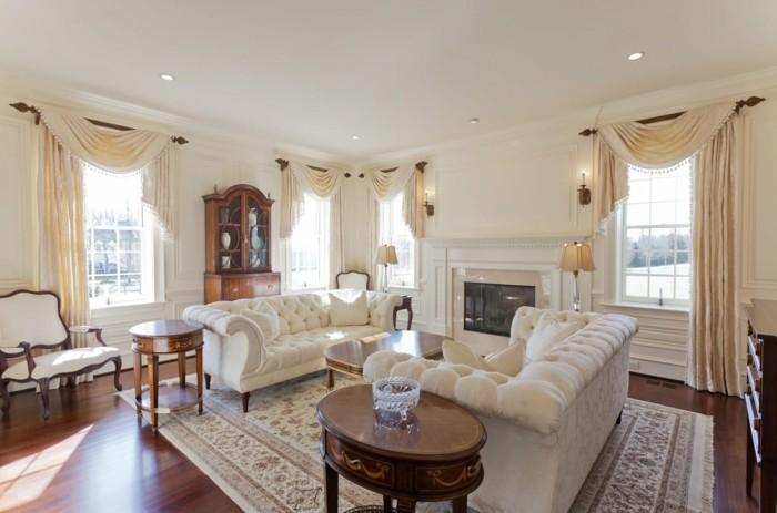 Wohnideen Wohnzimmer im klassischen Stil fr eleganten