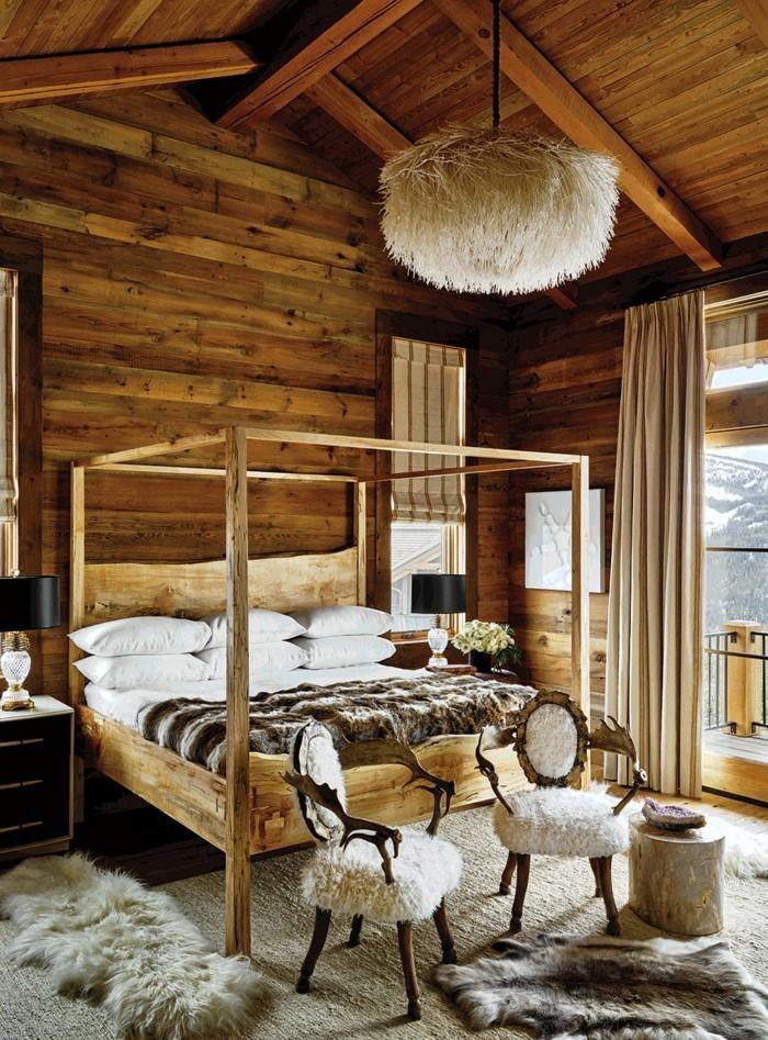 Rustikale Schlafzimmer Holz  conanpartners