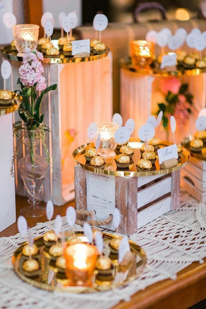 Hochzeit im Oktober 69 Beispiele fr Tischdekoration in Herbstfarben