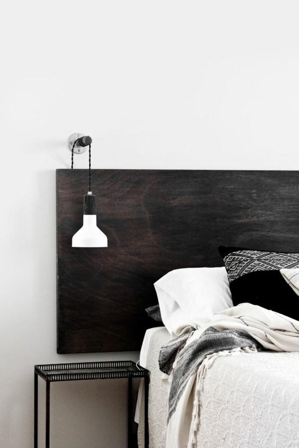 45 Schlafzimmer Ideen fr Bett Kopfteil fr stilvolle