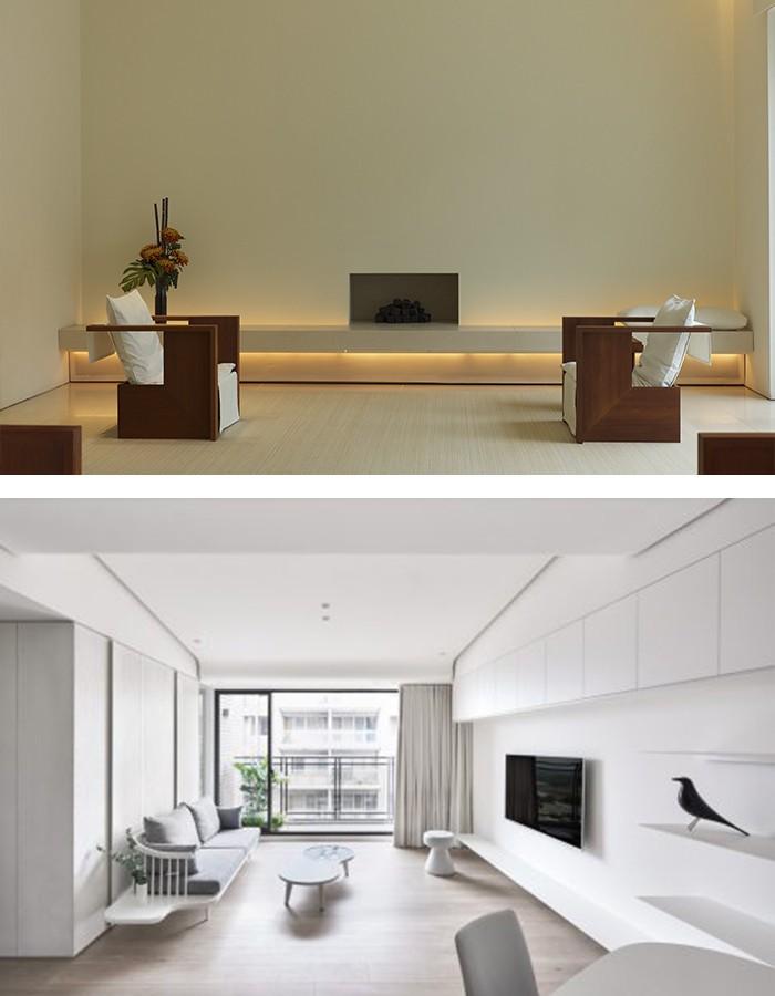 Minimalistisch 31 Wohnzimmer Design Modern Blakutak 86 Galerie