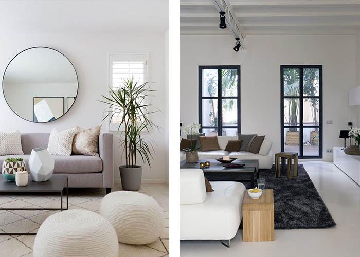 Minimalistisch 37 Wohnzimmer Design Wandgestaltung Blakutak 86