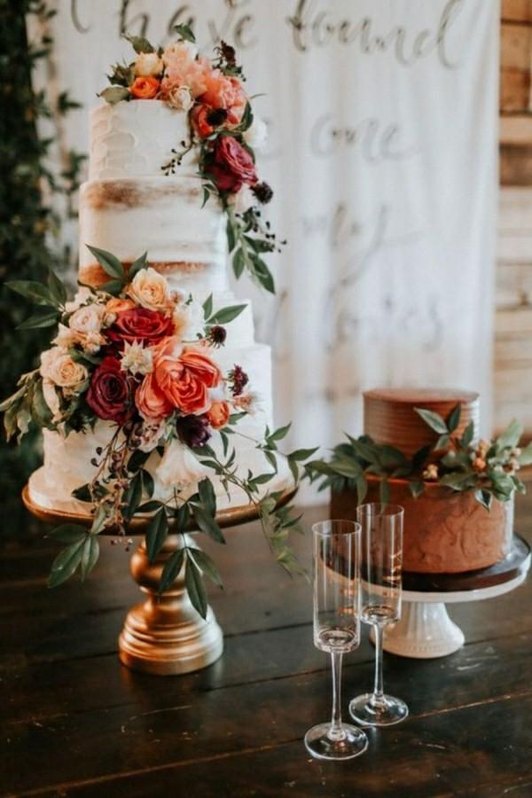 30 besonders elegante HochzeitstortenIdeen  2018