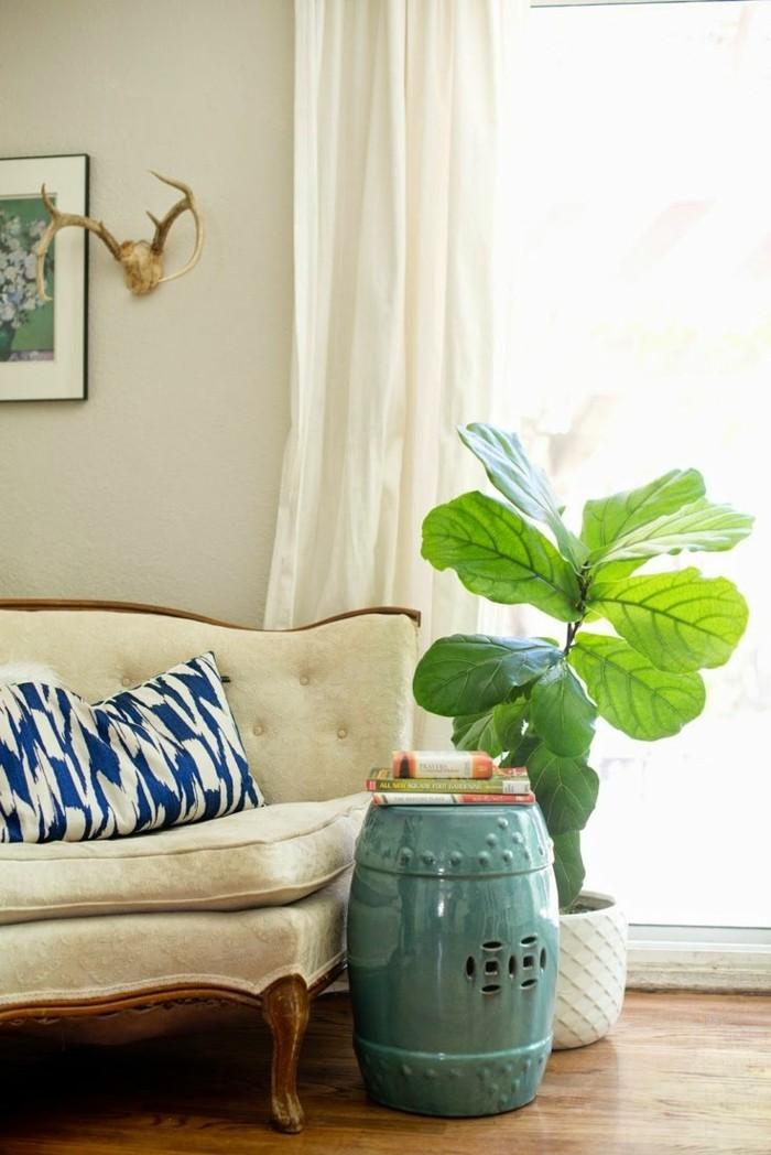Pflanze mit groen Blttern  ein herrlicher Hingucker zu