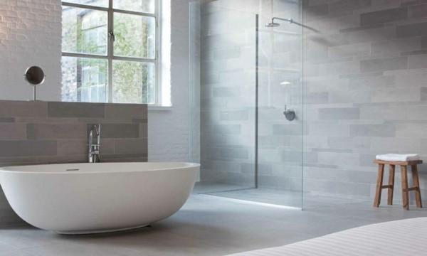Badezimmer Grau  Ideen fr ein zeitloses und trendiges Baddesign