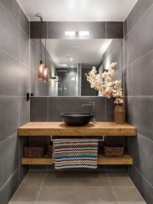 Holz im Bad bringt Opulenz und Wrme mit verlangt aber Pflege  Fresh Ideen fr das Interieur