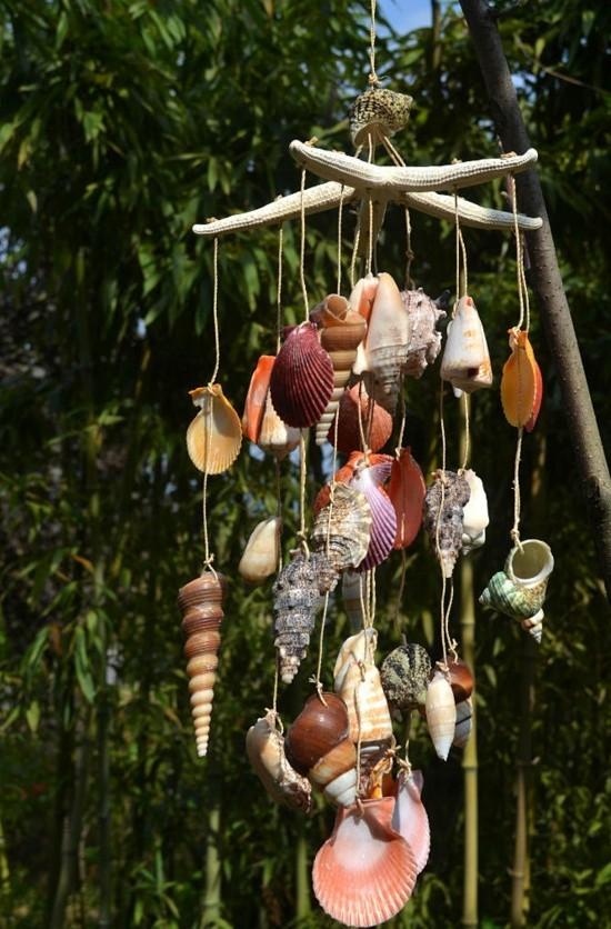 Windspiel basteln  59 DIY Ideen mit einfachen Materialien