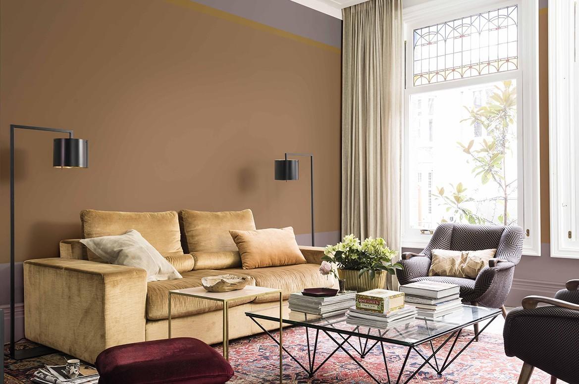 50 Wandfarben Ideen frs Wohnzimmer nach den neuesten