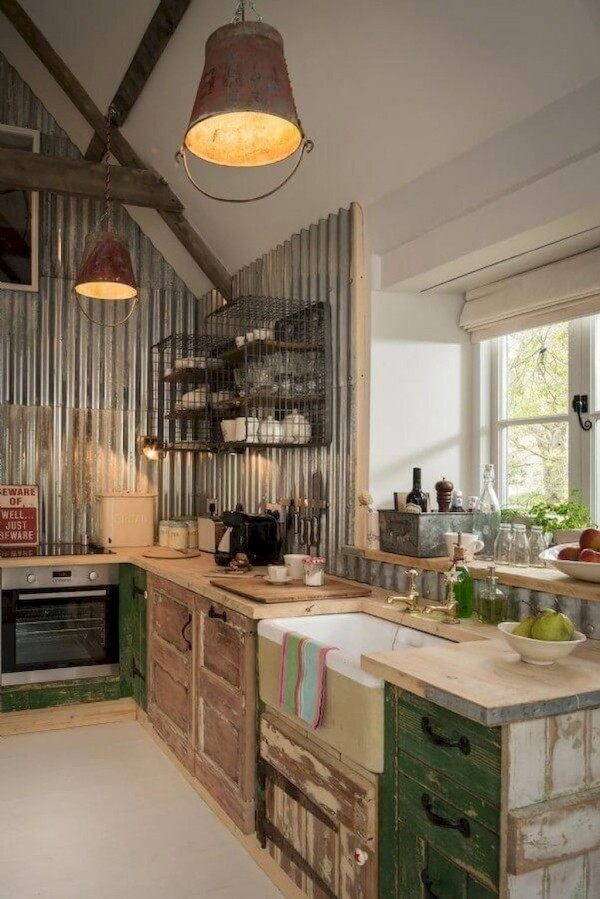 Metro Fliesen Landhausküche U Küche Günstig
