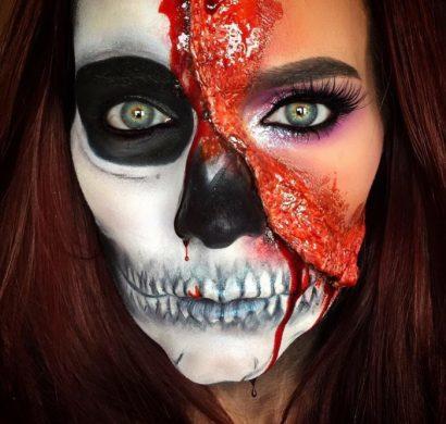 Maquillage Halloween  ides originales pour vous inspirer