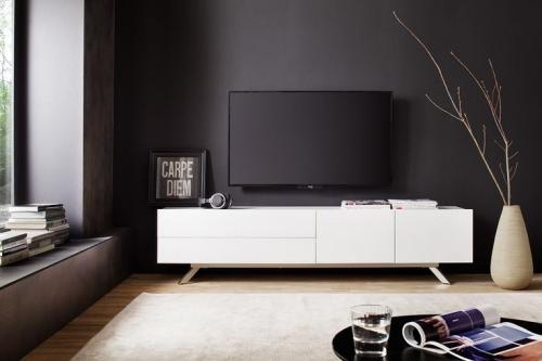 meuble tv moderne et discret se