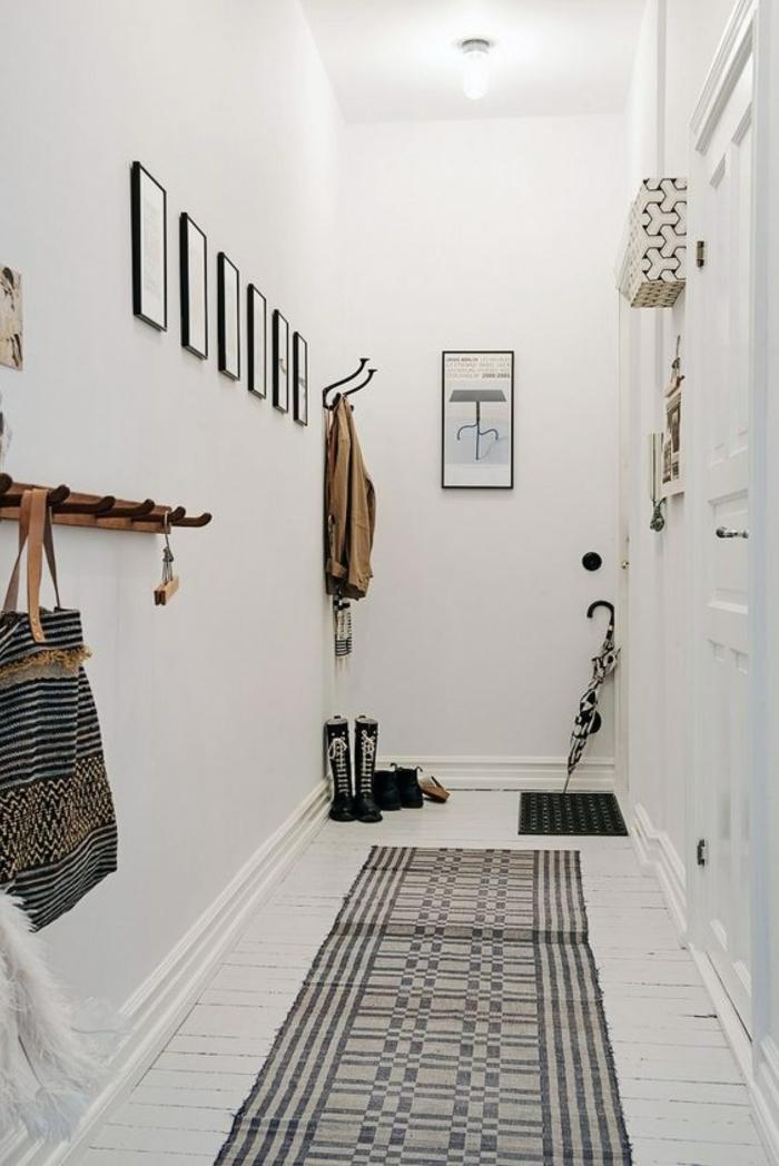 Dco couloir troit  ides pour valoriser le petit espace