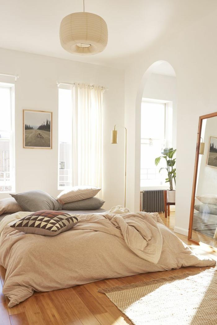 chambre adulte cosy et design