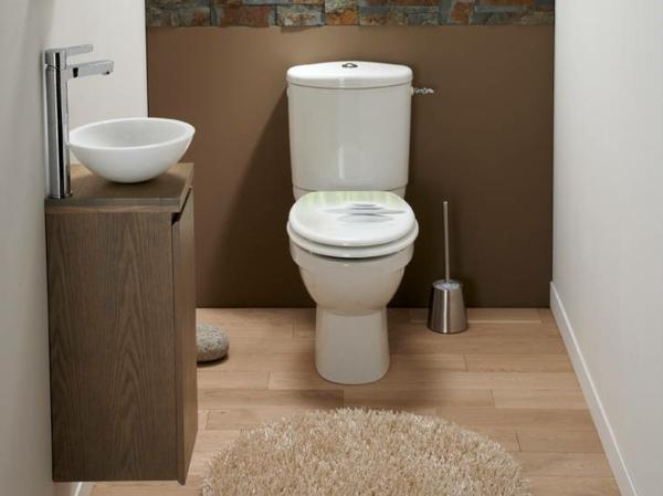 Peinture toilettes tendance  quelle couleur pour dcorer les WC