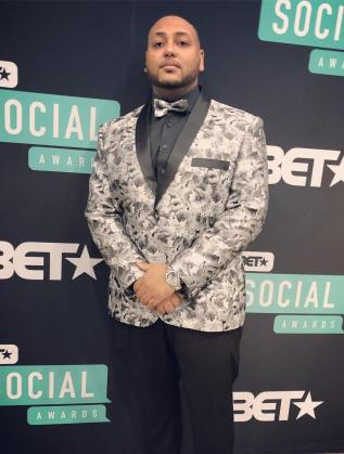 Rueben Wood at BET Social
