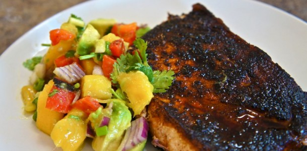 Blackened Swordfish Recipe  Dishmaps